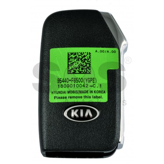 OEM Smart Key for Kia 2019+  Buttons: 3+1P / Frequency:433MHz / Transponder: NCF 29A1X HITAG3 /  Part No:95440-F6500 / Keyless Go /