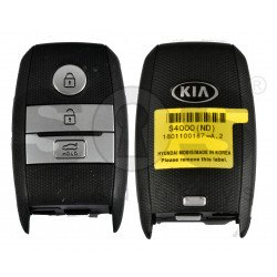 OEM Smart Key for KIA 2018+ Buttons: 3 / Friquency: 433MHz / Transponder:NCF295X/HITAG 3 / Blade signature: HY22 / Part No: 95440-S4000 / Keyless GO