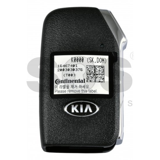 OEM Smart Key for Kia SOLO 2019-2020  Buttons: 3+1 / Frequency:433MHz / Transponder: NCF29AX/HITAG AES /  Part No: 95440-K0000/  Keyless Go