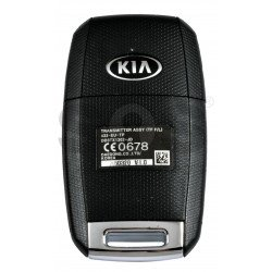 OEM Flip Key for KIA Optima/ Sportage 2014-2015 Buttons:3 / Frequency:433 MHz / Transponder:  PCF7936 /  Part No: 95430-2T580