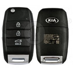 OEM Flip Key for KIA Rio 2018-2019 Buttons:3 / Frequency:433 MHz / Transponder: Tiris DST 80  /  Part No: 95430-H9600
