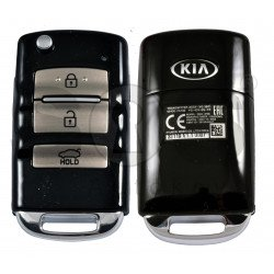 OEM Flip Key for KIA Cadenza 2016-2020 Buttons:3 / Frequency:433MHz / Transponder:TIRIS DST80 / Part No : 95430-F6100
