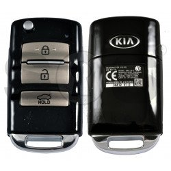 OEM Flip Key for KIA Cadenza 2014-2015 Buttons:3 / Frequency:433MHz / Transponder:PCF7936/HITAG 2 / Part No : 95430-3R300