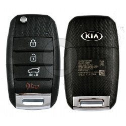 OEM Flip Key for KIA Sportage 2016-2020 Buttons:3+1P / Frequency:433 MHz   /  Part No: 95430-D9100