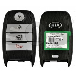 OEM Smart Key for KIA Optima  2014-2015 Buttons:3+1P / Frequency: 433MHz / Transponder: PCF7952/HITAG 2  /  Part No:95440-2T510  / Keyless GO / USA Market
