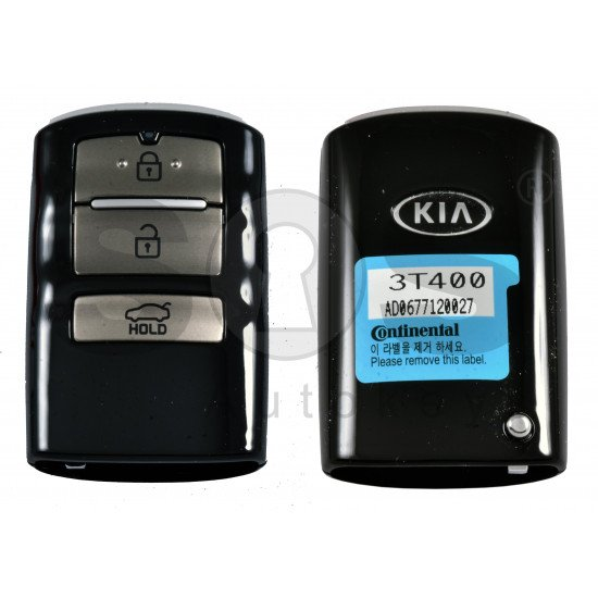 OEM Smart Key for KIA Quoris 2018 Buttons: 3 / Frequency:433MHz / Transponder:PCF7952/HITAG 3 / Part No: 95440-3T400 / Keyless GO