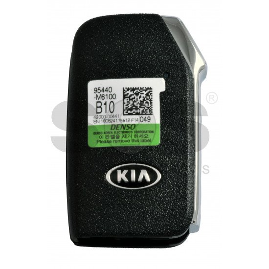 OEM Smart Key for Kia  Cerato 2018-2019  Buttons: 4 / Frequency:433MHz / Transponder:  TIRIS RF430(8A)  /  Part No: 95440-M6100/  Keyless Go / Automatic start