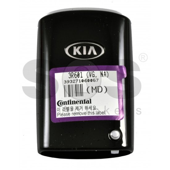 OEM Smart Key for KIA Cadenza 2014+ Buttons: 3+1 / Frequency:433MHz / Transponder:PCF7952/HITAG 2 / Part No: 95440-3R600/3R601 / Keyless GO