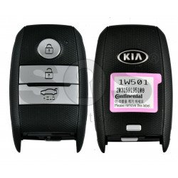 OEM Smart Key for KIA RIO 2016 Buttons:3 / Frequency: 433MHz / Transponder: PCF7952/HITAG 2 /  Part No: 95440-1W501 / Keyless GO