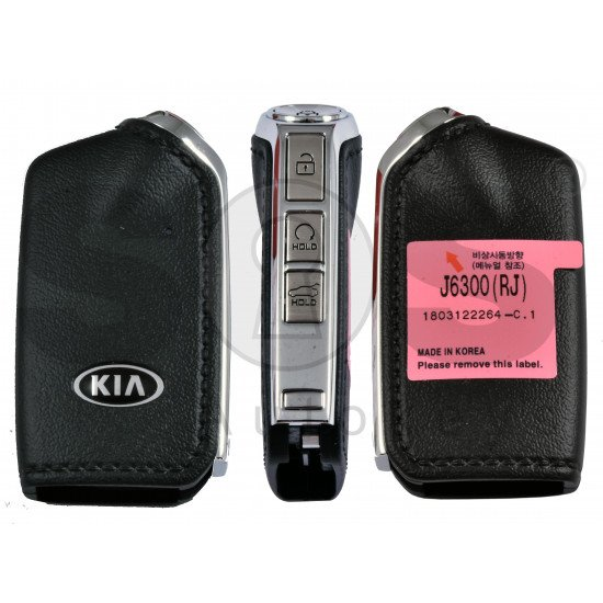 OEM Smart Key for Kia K900 2018 Buttons: 4 / Frequency:433MHz / Transponder: NCF29A/HITAG 3  /  Part No:  95440-J6300/ Keyless Go / Automatic Start