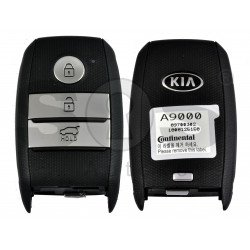 OEM  Smart Key for KIA Carnival 2016 Buttons:3 / Frequency: 433MHz / Transponder: HITAG 3/ NCF295 Blade signature: HY22 / Part No: 95440-A9000 / Keyless GO
