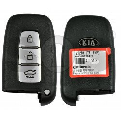 OEM Smart Key for Optima 2011-2012 Buttons:3 / Frequency:433MHz / Transponder: PCF7952/HITAG 2 / Blade signature:HY22 / Part No: 95440-2T200