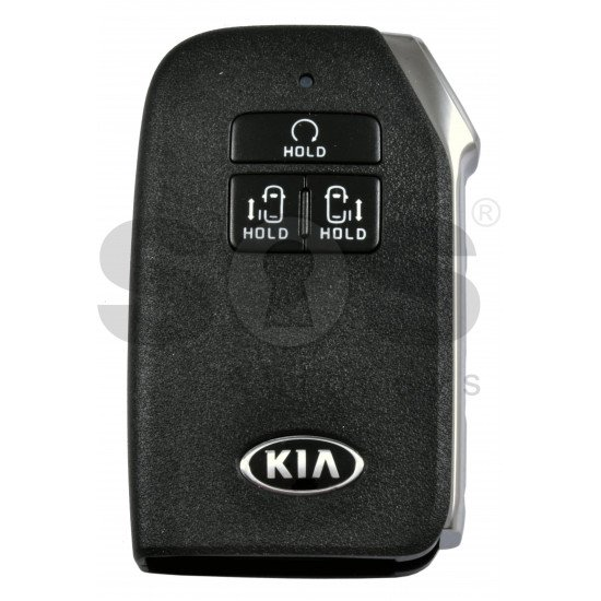 OEM Smart Key for Kia  Buttons: 6+1P / Frequency:433MHz / Transponder: NCF29A/HITAG AES /  Part No: 95440-R0100 / Keyless Go / Automatic Start