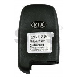OEM Smart Key for KIA Optima 2010 Buttons:4 / Frequency:447MHz / Transponder: PCF7952/HITAG 2 / Blade signature:HY22 / Part No:  95440-2G100