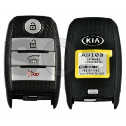 OEM Smart Key for KIA Sedona  2015-2018 Buttons:3+1P / Frequency: 433MHz / Transponder: NCF295/HITAG 3 /  Part No: 95440-A9100 / Keyless GO /