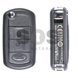 OEM Flip Key for Land / Range Rover Buttons:3 / Frequency:433MHz / Transponder:PCF 7941 / Blade signature:HU92 / Immobiliser System:EWS / Part No:YWX000061 / KEYLESS GO