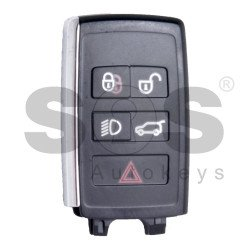 OEM Smart key for Land Rover 2018+ Buttons:4+1 / Frequency:315MHz / Transponder: HITAG PRO / Part No: PEPS(SUV) JK52-15K601-CG / Blade signature:HU101 / Keyless Go