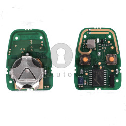Remote Key (PCB) for Rover Buttons:2 / Frequency:434MHz / Immobiliser System:LUCAS / Part No:YWX101200/ YWX101220