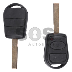Regular Key for Rover Buttons:3 / Frequency:433MHz / Transponder:PCF 7935 / Blade signature:HU92 / Immobiliser System:EWS