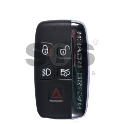 Smart key for Land/Range Rover Buttons:4+1 / Frequency:434MHz / Transponder:PCF 7953 / Blade signature:HU101 / Part No:LR027451/ CH22-14K601-BB / Keyless Go