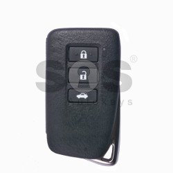 OEM Smart Key for Lexus Buttons:3 / Frequency:433MHz / Transponder:Texas Crypto 128-Bit AES / Immobiliser system:Smart Module / Part No:89904-30B50 / Keyless Go