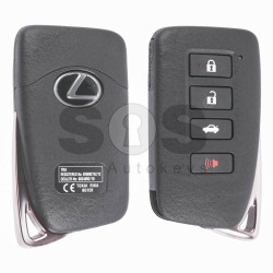 OEM Smart Key for Lexus Buttons:3+1 / Frequency:433MHz / Transponder: Texas Crypto/ 128-bit/ AES / Fist Page: A8 / Immobiliser System:Smart Module / Part No:89904-53831 / Keyless Go