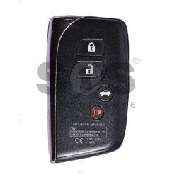 OEM Smart Key for Lexus Buttons:3+1 / Frequency:433MHz / Transponder:Texas Crypto/ ID6D - 67/68/70 / First Page: 98 / Blade signature:TOY-94 / Immobiliser system: Smart Module / Part No:23472/SDPP/2012 2344 / Keyless Go