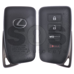 OEM Smart Key for Lexus Buttons:3+1 / Frequency: 315MHz / Transponder: Texas Crypto / 128-bit / AES / First Page: A8 / Part No:89904-53651 / Keyless Go