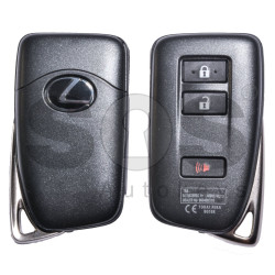 OEM Smart Key for Lexus NX200 Buttons:2+1 / Frequency:434MHz / Transponder Texas Crypto/ 128-bit/ AES / Immobiliser System:Smart Module / Part No:89904-78640 / Keyless Go