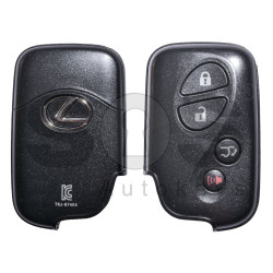 OEM Smart Key for Lexus RX350 Buttons:3+1 / Frequency: 434MHz / Transponder:Texas Crypto ID 6D - 67/68/70 / First Page: 98 / Part No: 89904-48701 / Immobiliser system: Smart Module / Keyless Go