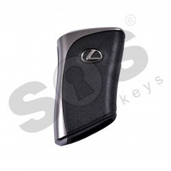 OEM Smart Key for Lexus UX250 2019+ / Buttons:2+1 / Frequency:434MHz / Transponder:Texas Crypto/ 128-bit/ AES / First Page: AA / Blade signature:TOY-48 / Part No: 8990H-76350/ Keyless Go