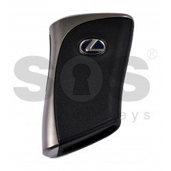 OEM Smart Key for Lexus ES 350 2019+/ Buttons:3+1 / Frequency:434MHz / Transponder:Texas Crypto/ 128-bit/ AES / First Page: AA / Blade signature:TOY-48 / Part No: 8990H-33081/8990H-33080 / Keyless Go