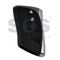 OEM Smart Key for Lexus UX200 2018-2019/ Buttons:2 / Frequency:434MHz / Transponder:Texas Crypto/ 128-bit/ AES / First Page: AA / Blade signature:TOY-48 / Part No: 8990H-96290 / Keyless Go