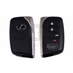 OEM Smart Key for Lexus LS 460 Buttons:3+1 / Frequency:433MHz / Transponder:Texas Crypto/ ID6D - 67/68/70 / First Page: 98 / Blade signature:TOY-94 / Immobiliser system: Smart Module / Part No:89904-50L01/50L00 / Keyless Go