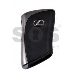 OEM Smart Key for Lexus UX 200H 2019+/ Buttons:2+1 / Frequency:434MHz / Transponder:Texas Crypto/ 128-bit/ AES / First Page: AA / Blade signature:TOY-48 / Part No: 8990H-76350 / Keyless Go