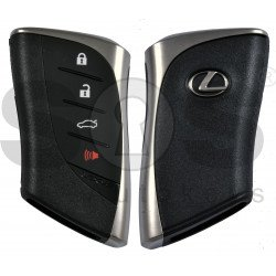 ORIGINAL Smart Key for Lexus ES 350/300/250H 2018-2019 Buttons:3+1P / Frequency:434MHz / Transponder: TIRIS DST 80 / First Page: AA /  Part No: 8990H-33070  / Keyless Go