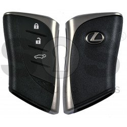 ORIGINAL Smart Key for Lexus UX Buttons:3 / Frequency:434MHz / Transponder: DST AES / First Page: AA /  Part No: 8990H-76300/8990H-76320  / Keyless Go