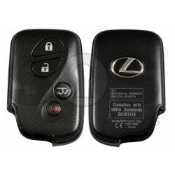 OEM Smart Key for Lexus  RX 350 Buttons:3+1 / Frequency: 433MHz / Transponder:Texas Crypto ID 6D - 67/68/70 / First Page: D4 / Part No:  89904-48243/48244 / Immobiliser system: Smart Module / Keyless Go