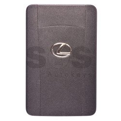OEM Smart Card for Lexus IS250/350 Frequency: 433MHz / Transponder: Texas Crypto ID 6D - 67/68/70 / First Page: 98 / Part No: 89904-53131/ 89904-50480/ 89904-24020/89904-50481 / Keyless Go