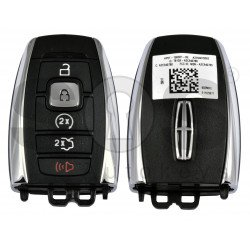 OEM Smart Key For lincoln Buttons:4+1P / Frequency:902MHz / Transponder:HITAG PRO /  Part No: HP515K601-BE / Keyless GO / Automatic start