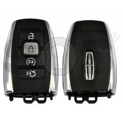 OEM Smart Key For lincoln Buttons:4 / Frequency:434MHz / Transponder:HITAG PRO /  Part No: HP5T-15K601-DD / Keyless GO / Automatic start
