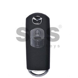 Smart Key for Mazda Buttons:2 / Frequency:434MHz / Transponder:HITAG PRO / Blade signature:MAZ-24R/MAZ-14 / Immobiliser System:Smart Module / Part No: / Keyless Go
