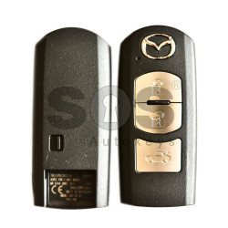 OEM Smart Key for Mazda Buttons:2 / Frequency:434MHz / Blade signature:MAZ-24R/MAZ-14 / Immobiliser System:Smart Module / Part No:GHK1675DY / Keyless Go / Manufacturer: SIEMENS VD0
