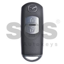 OEM Smart Key for Mazda 2 / Buttons:2 / Frequency:434MHz / Transponder: PCF7953 / Blade signature:MAZ-24R/MAZ-14 / Immobiliser System:Smart Module / Part No:GHY5-67-5DY/ KDY5-67-5DY / Keyless Go / Manufacturer: MITSUBISHI ELECTRONICS