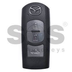 OEM Smart Key for Mazda Buttons:3 / Frequency:434MHz / Blade signature:MAZ-24R/MAZ-14 / Immobiliser System:Smart Module / Part No:GHK1-67-5DY/ BDY1-67-5RYA / Keyless Go