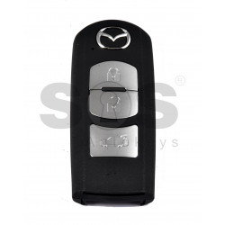 OEM Smart Key for Mazda CX5 / CX9 Buttons:3 / Frequency:434MHz / Transponder:PCF 7953 / Part No:TEY7-67-5RY Immobiliser System:Smart Module /  / Keyless Go