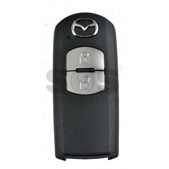 OEM Smart Key for Mazda Buttons:2 / Frequency:434MHz / Transponder:NCF29A/HITAG PRO /  Blade signature:MAZ-24R/MAZ-14 /Part No:DNH3T 675RY /  Model : SKE13E-02 / Keyless Go