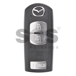 OEM Smart Key for Mazda Buttons:3 / Frequency:315MHz / Transponder:PCF 7953 / Blade signature:MAZ-24R/MAZ-14 / Immobiliser System:Smart Module / Part No:K9Y7-675DY / Keyless Go