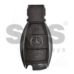 OEM  Smart Key Mercedes W204 C-Class / Buttons:2 / Frequency:434MHz / Blade signature:HU64 / Immobiliser system: FBS3 / Part No:A 204 905 17 04 / Keyless Go