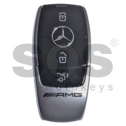 OEM 2x Smart Keys Mercedes Benz W213/ AMG Buttons:3 / Frequency: 433.92MHz / Blade signature: HU64 / Part No: A2139056509 / Keyless Go (ONLY PAIRS)